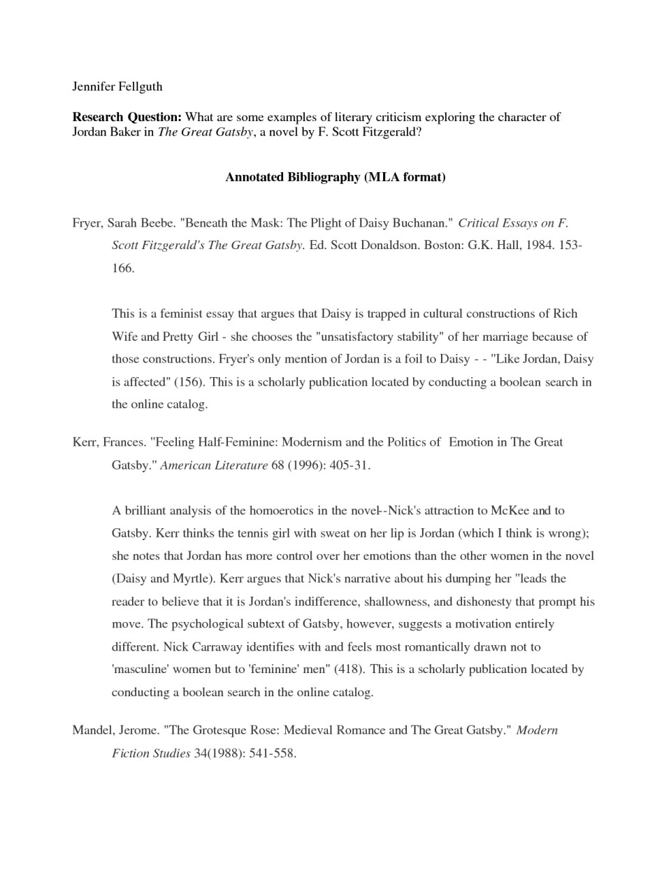013 Examples Of Researchs Mla Singular Research Papers Example Paper Format Cover Page Argumentative Essay In 960