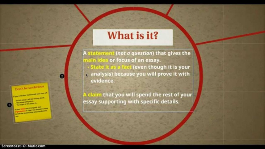 013 Good Thesis Statement For Research Paper Example Fantastic A Psychology Examples How To Write