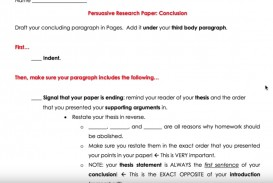 013 How To Write Conclusion Paragraph Research Paper Best A Great