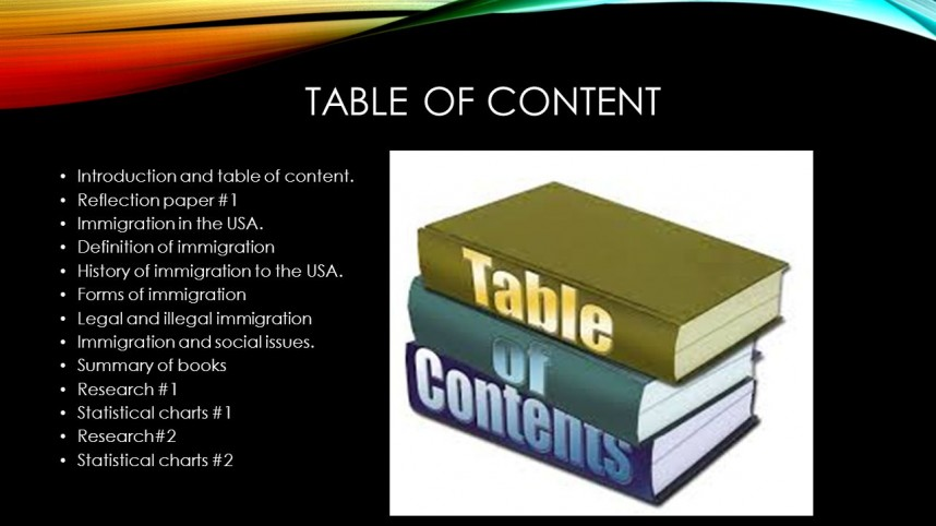 013 Immigration Research Paper Introduction Slide 2 Exceptional