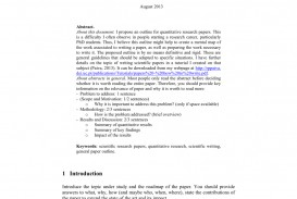 013 Largepreview Outline For Research Phenomenal A Paper Template Mla How To Write An Ppt On Autism 320