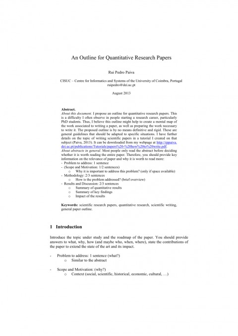 013 Largepreview Outline For Research Phenomenal A Paper Mla How To Make An Pdf Apa Style 480