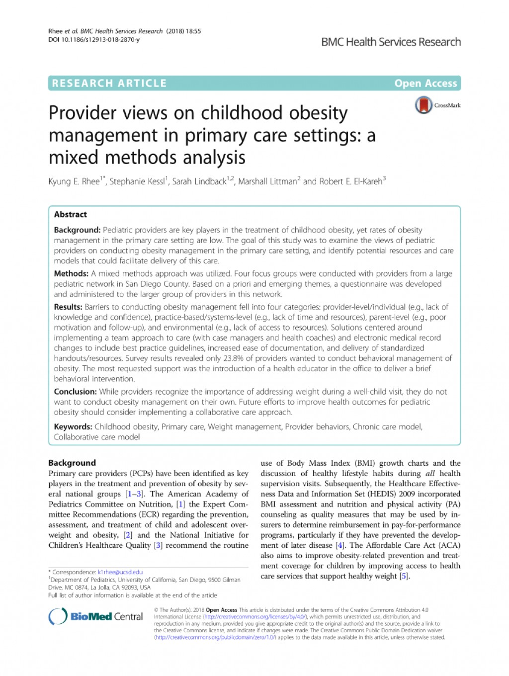013 Largepreview Primary Research Article On Childhood Obesity Imposing Large