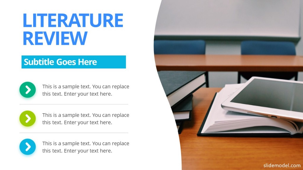 013 Literature Review Slide Powerpoint How To Prepare Research Paper Unique Ppt Large