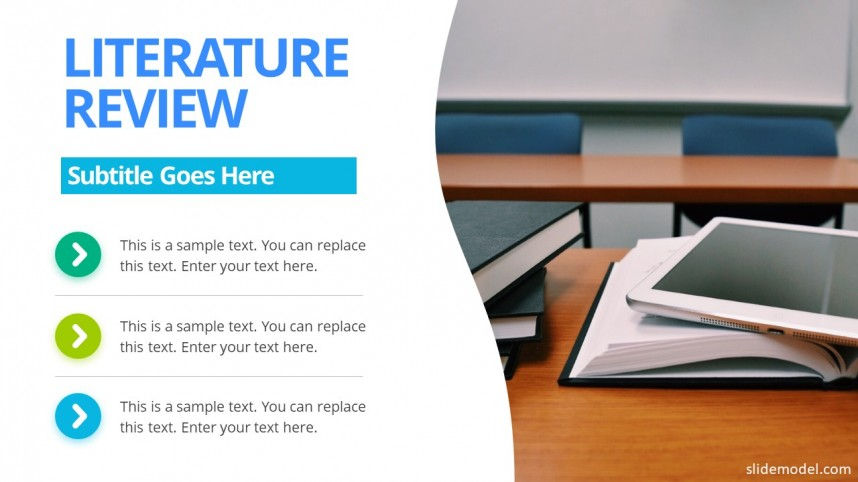 013 Literature Review Slide Powerpoint How To Prepare Research Paper Unique Ppt