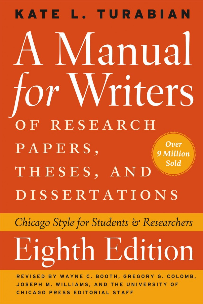 013 Manual For Writers Of Research Papers Theses And Dissertations Ebook Paper 71zqdmudhcl  Sl1280 Unbelievable A868