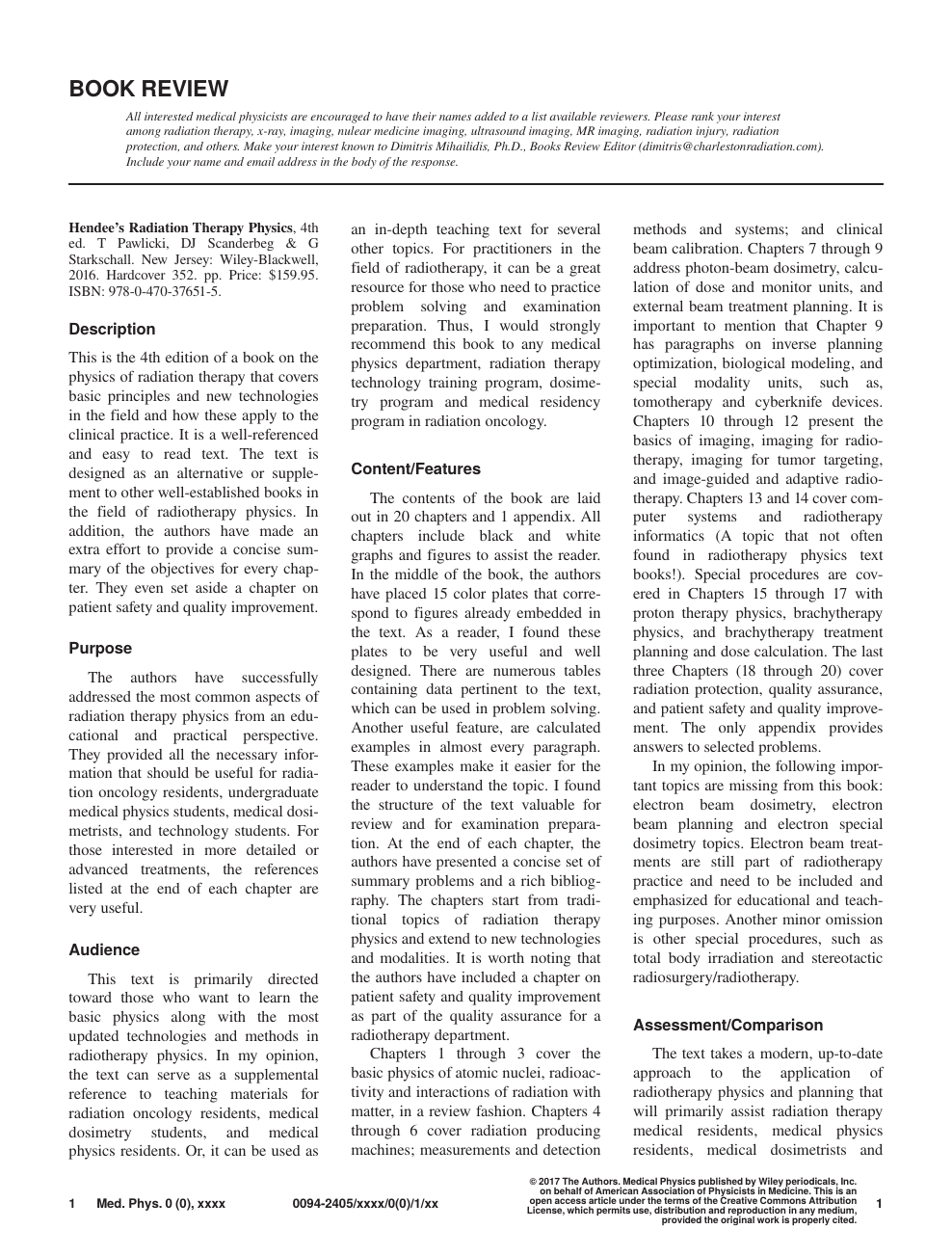 Research paper topics radiology