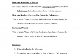 013 Mla Format Works Cited Page Websites 82966 How To Do For Research Unusual Paper A