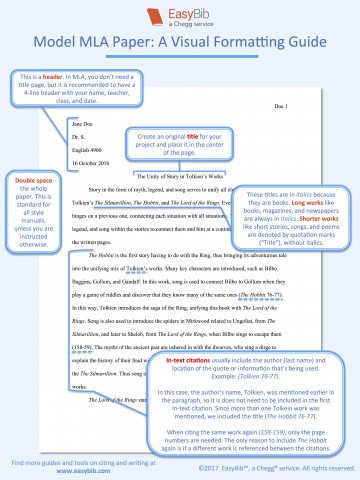 013 Model Mla Paper Research Chicago Style In Text Citation Wondrous Sample 360