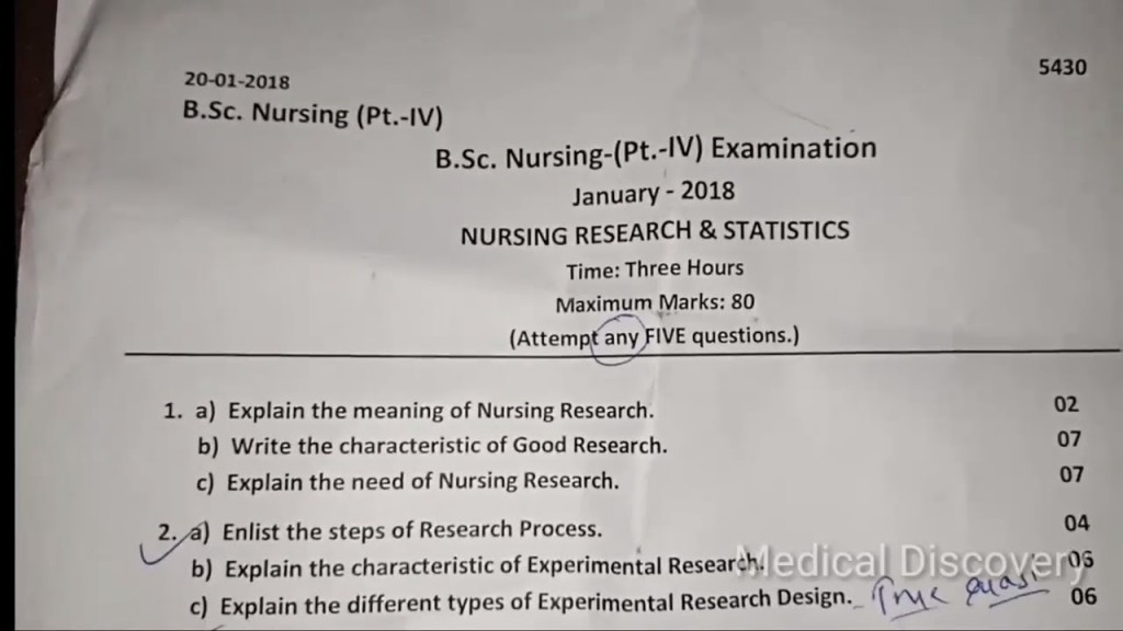 013 Nursing Researchs Maxresdefault Stirring Research Papers Paper Example Apa Examples Pediatric Topics Large