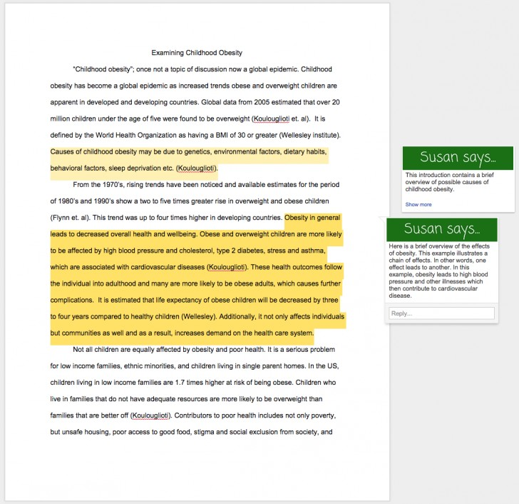 013 Obesity Essay Help Research Paper Childhood Amazing Thesis Statement 728