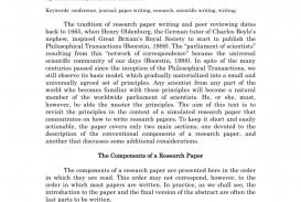 013 Order Of Writing Research Paper Impressive A Correct Sequence Steps For