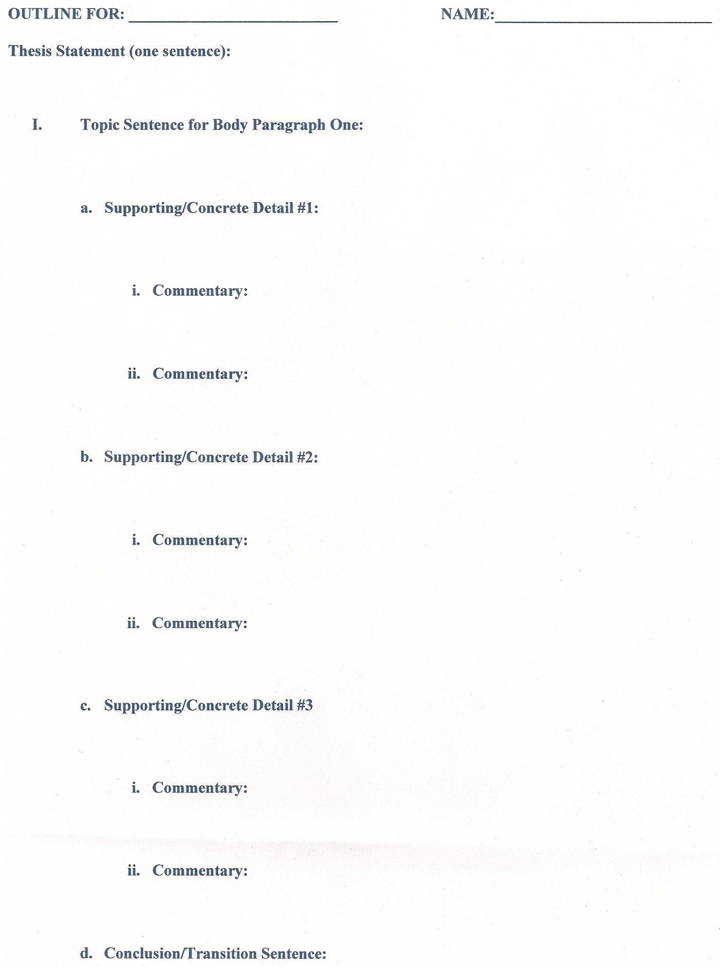 013 Outline Career Research Paper Unusual Template 1400