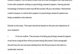 013 P1 Research Paper Sensational Psychology Outline Apa Abstract