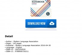013 Page 1 Mla Handbook For Writers Of Researchs 8th Edition Unique Research Papers Pdf Free Download