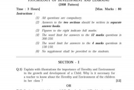 013 Pune University Questions Educational Research Past Exam Amazing Papers