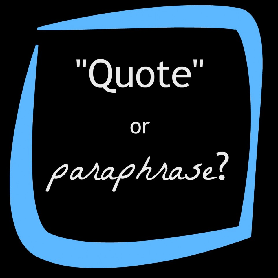 013 Quote Citing Sources College Research Beautiful Paper 960