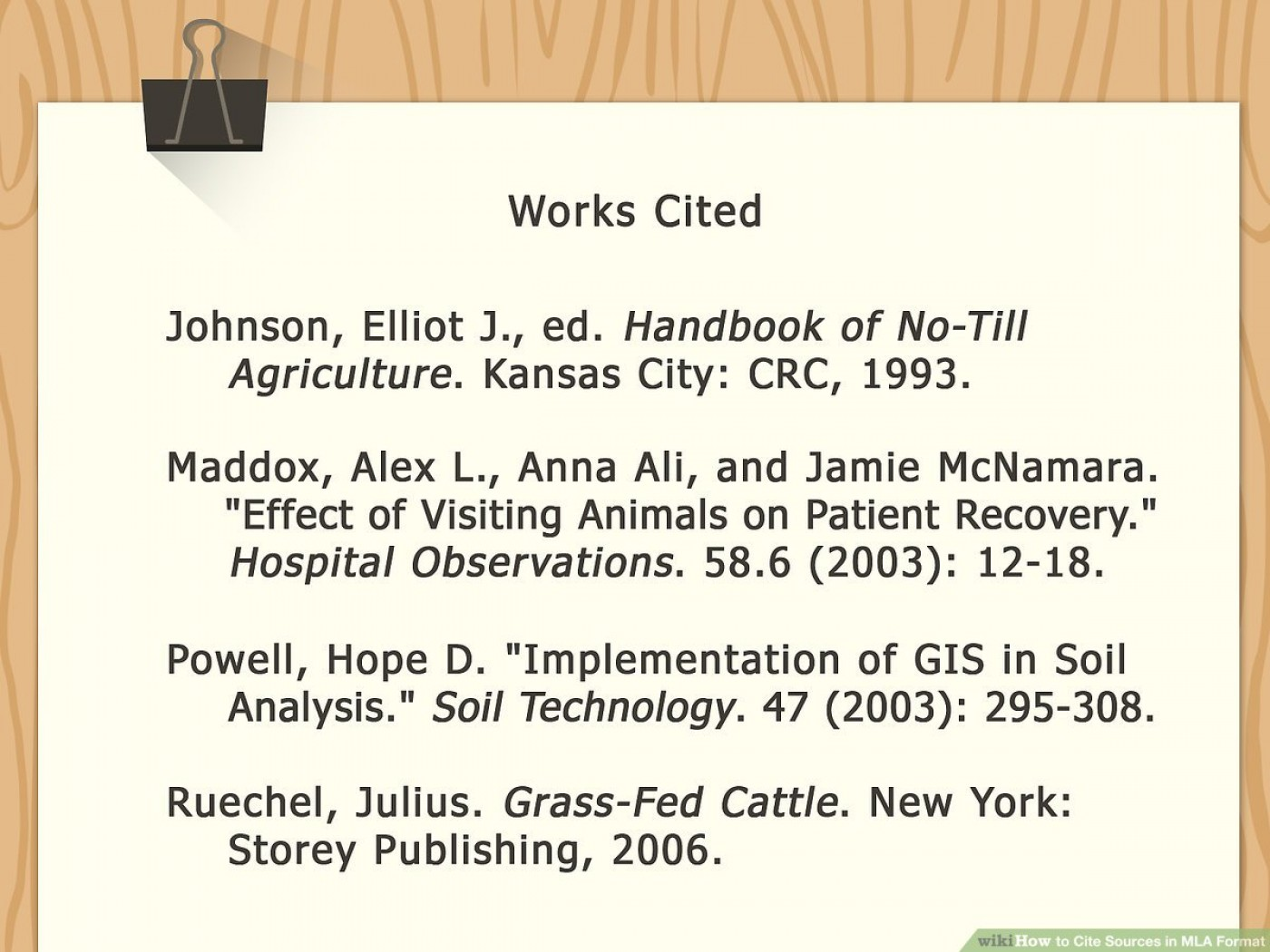 017 Mla Citation Example Bibmemlaimage Research ~ Museumlegs