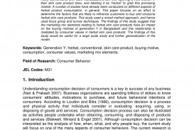 013 Research Paper Buying Papers Archaicawful Consumer Behaviour Pdf Impulse Behavior
