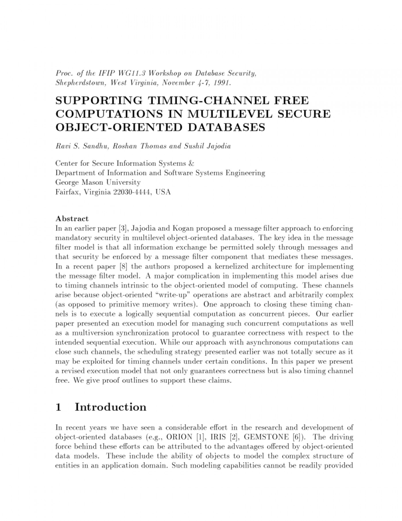 013 Research Paper Database Security Recent Papers Dreaded Pdf 1400