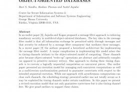 013 Research Paper Database Security Recent Papers Dreaded Ieee Pdf Related