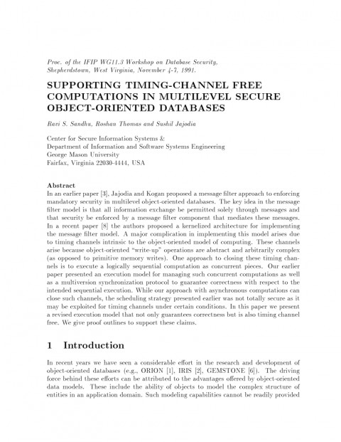 013 Research Paper Database Security Recent Papers Dreaded Pdf 480