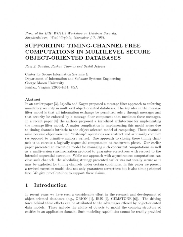 013 Research Paper Database Security Recent Papers Dreaded Pdf 728