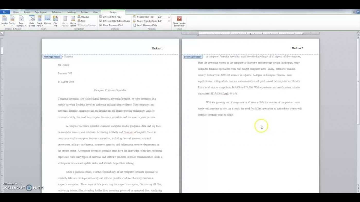 013 Research Paper Format Mla Surprising Purdue Owl Example Style 1400