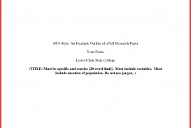 013 Research Paper Format Of Formidable Outline Example Chapter 1 Pdf Apa Style 320