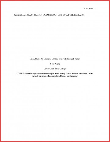 013 Research Paper Format Of Formidable Example Title Page Sample Pdf Ieee 360