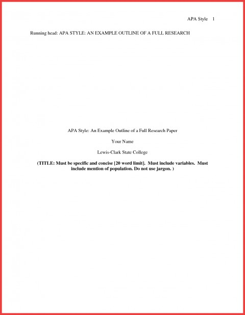 013 Research Paper Format Of Formidable Example Title Page Sample Pdf Ieee 480