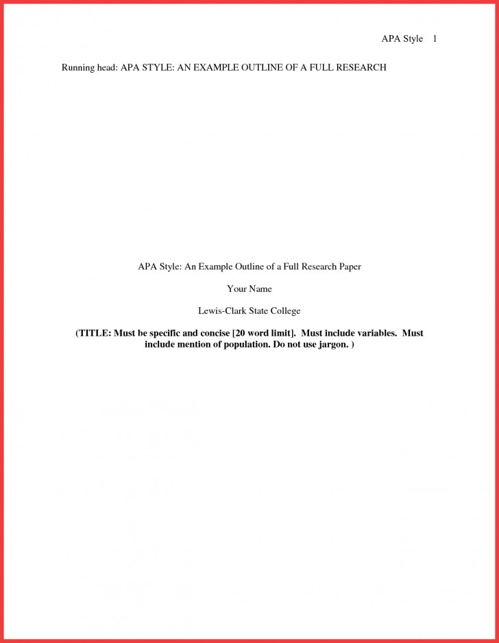 013 Research Paper Format Of Formidable Example Title Page Sample Pdf Ieee 728