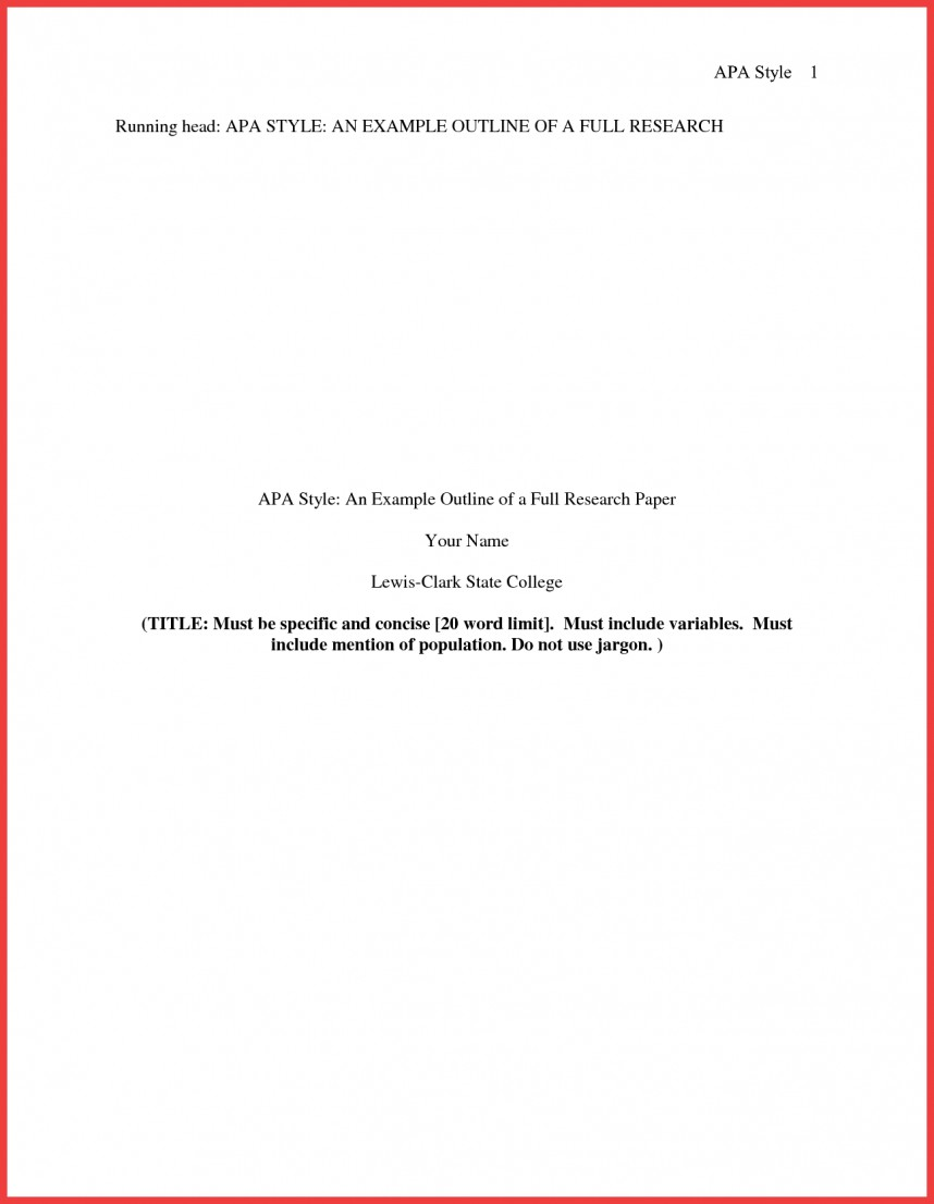 013 Research Paper Format Of Formidable Example Title Page Sample Pdf Ieee 868