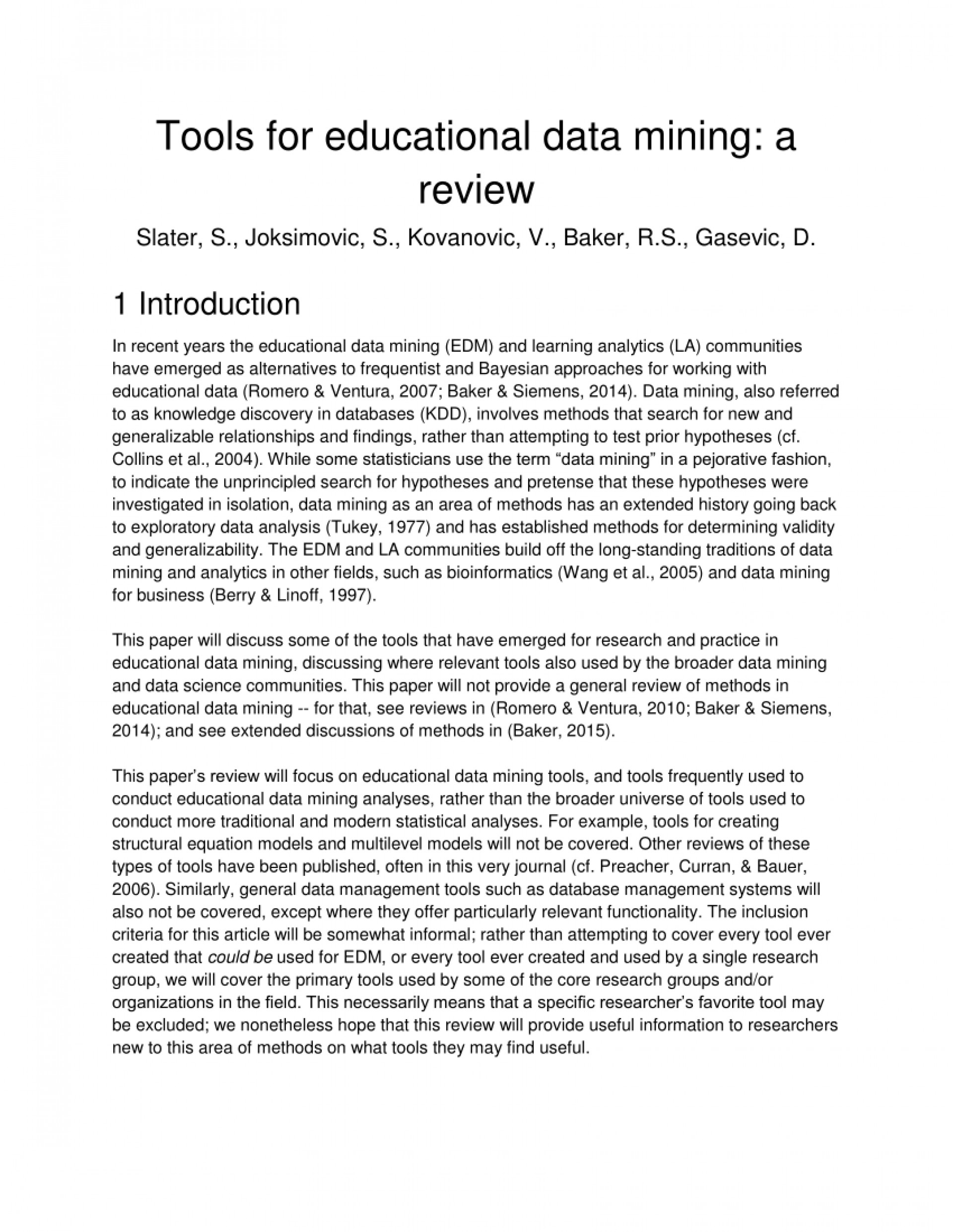 013 Research Paper Largepreview Educational Data Mining Papers Sensational Pdf 1920
