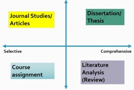 013 Research Paper Literature Papers Types Rare How To Write Review In English