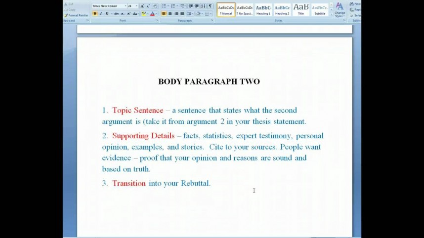 013 Research Paper Maxresdefault Argument Best Example Argumentative Conclusion Introduction Rogerian