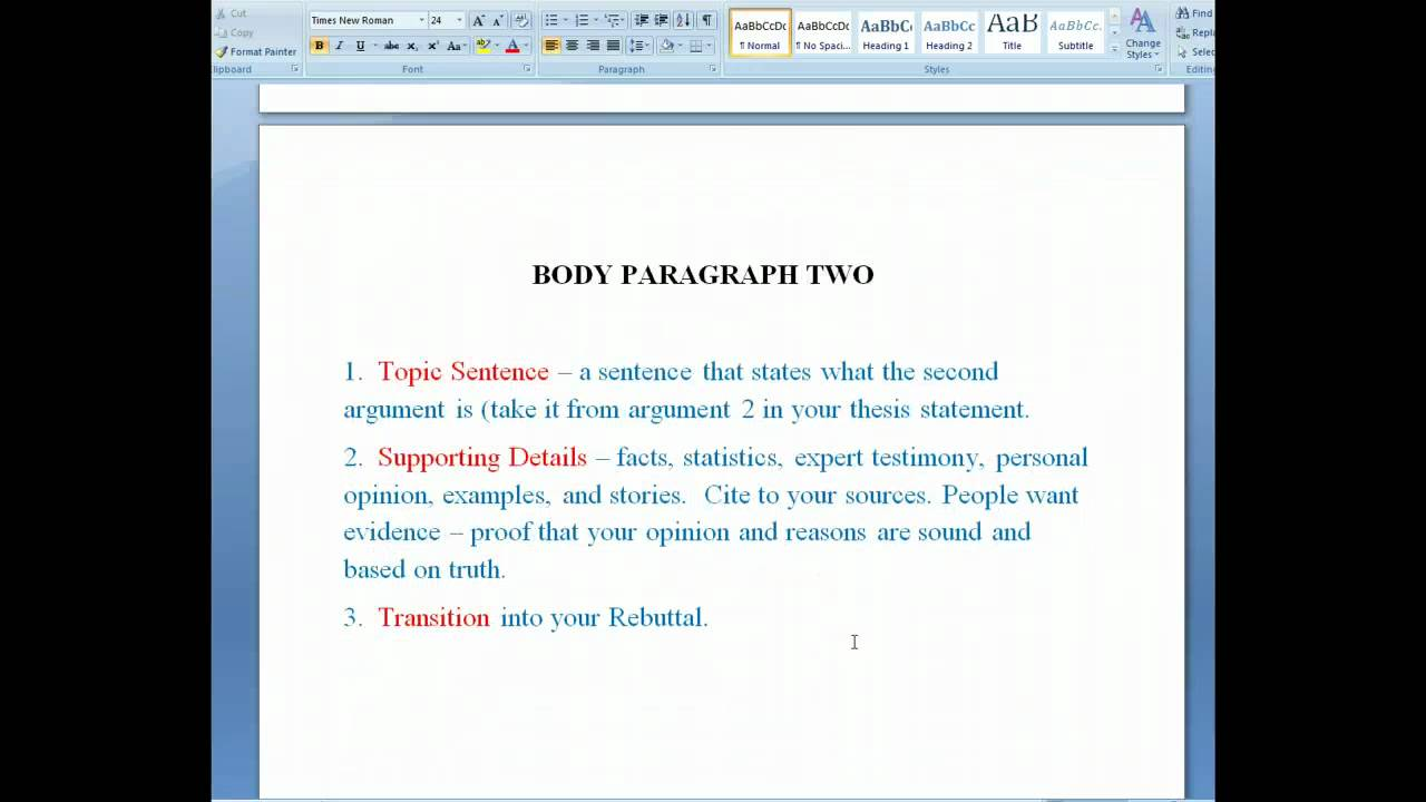 013 Research Paper Maxresdefault Argument Best Example Argumentative Sample Pdf Outline Template Full
