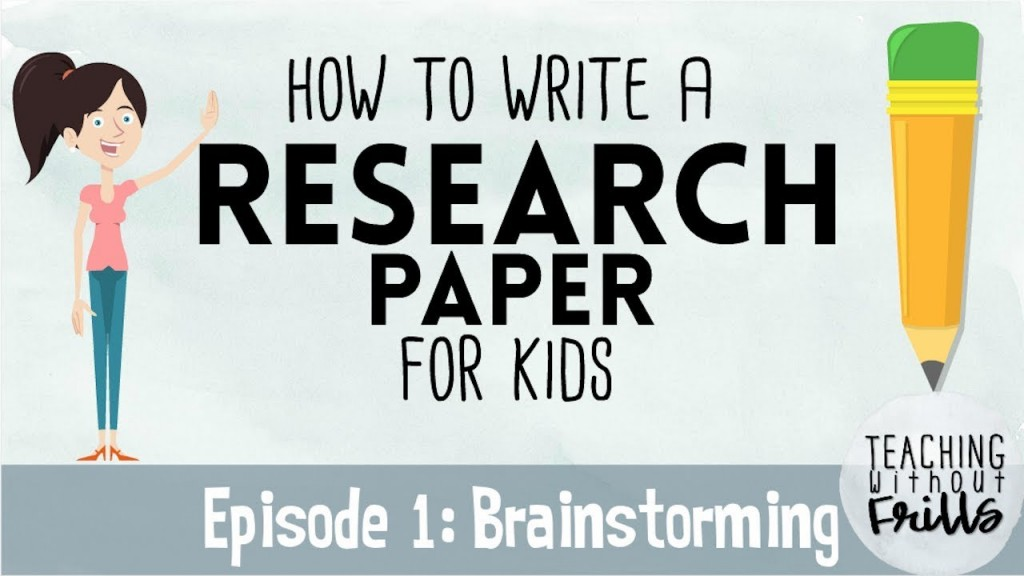 013 Research Paper Maxresdefault Steps Frightening Writing 12 Ten For Papers To A 10 Page Large