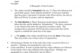 013 Research Paper Organizing Unforgettable A Outline Information In An For