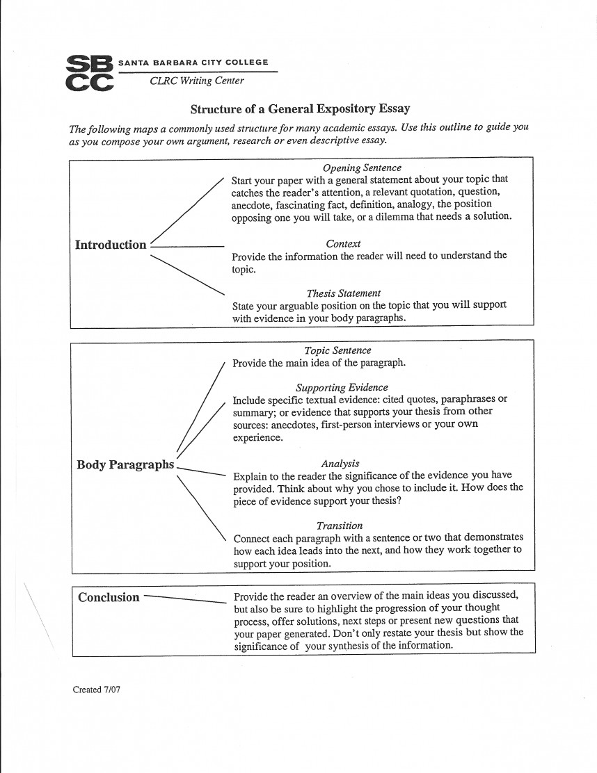 013 Research Paper Outline Structure For Unique Templates Papers Template Word Sample Outlines