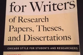 013 S L1600 Research Paper Manual For Writers Of Papers Theses And Sensational A Dissertations Ed. 8 Turabian Ninth Edition