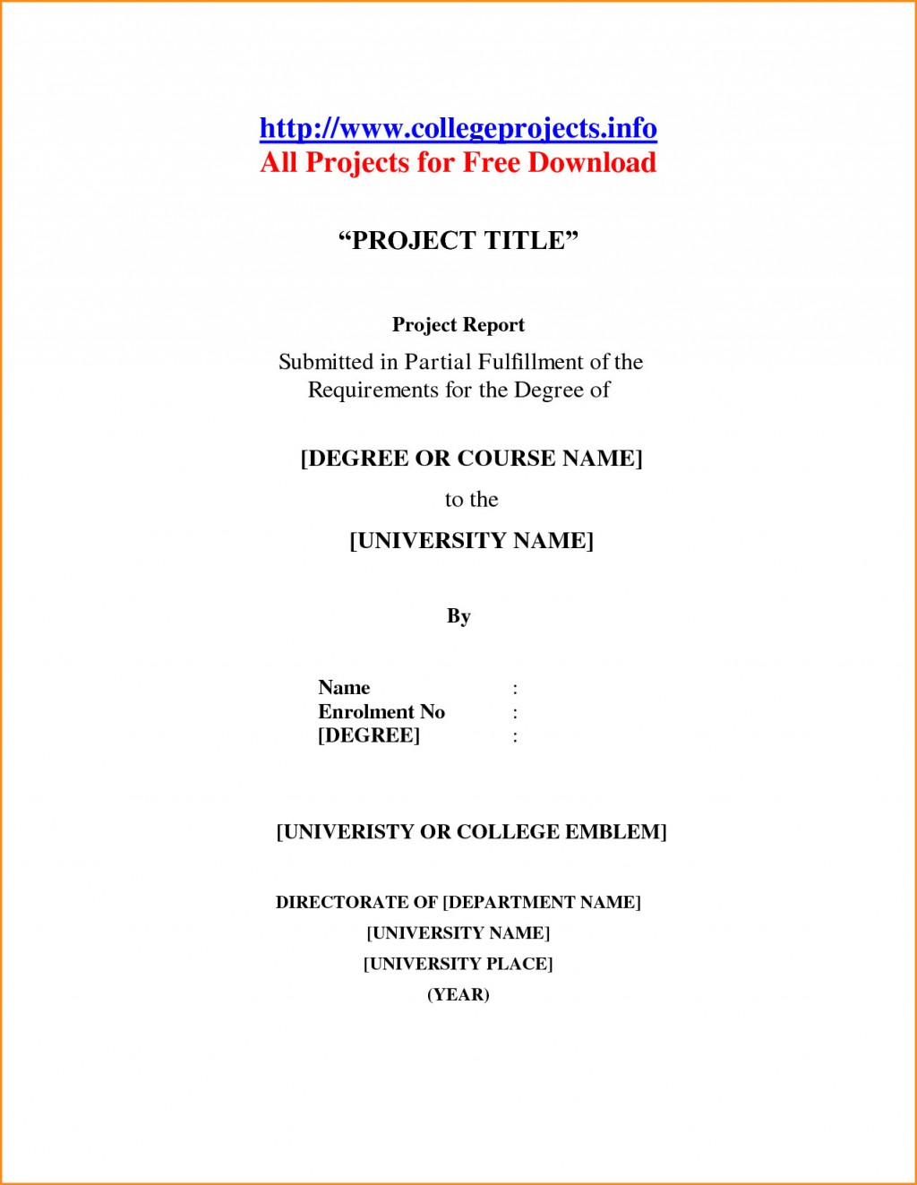 013 School Term Paper Cover Page Research Mla Template Front Of Format Also Unique Example Title Large