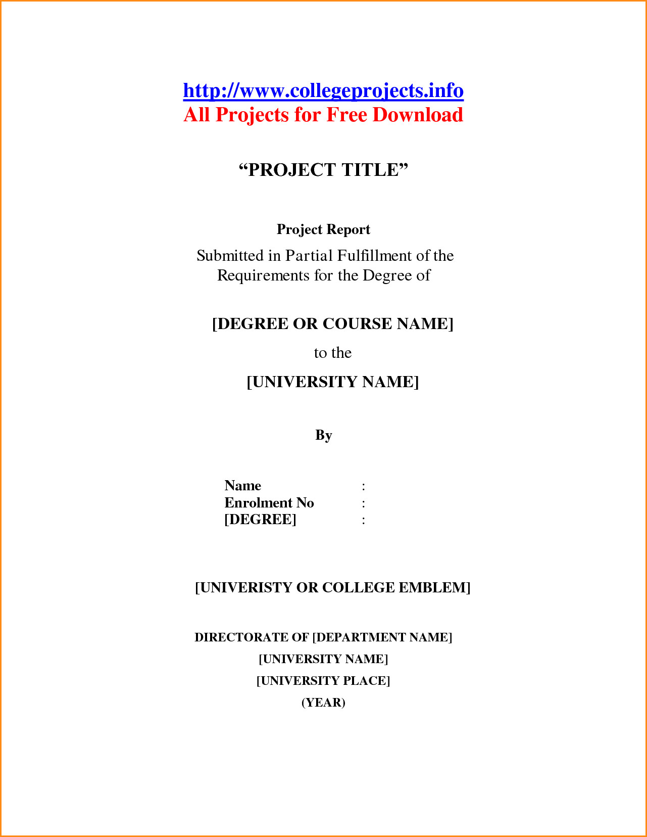 013 School Term Paper Cover Page Research Mla Template Front Of Format Also Unique Example Title Full