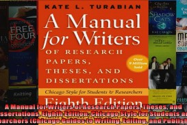 013 X1080 F2u Research Paper Manual For Writers Of Papers Theses And Dissertations Eighth Phenomenal A Edition Pdf