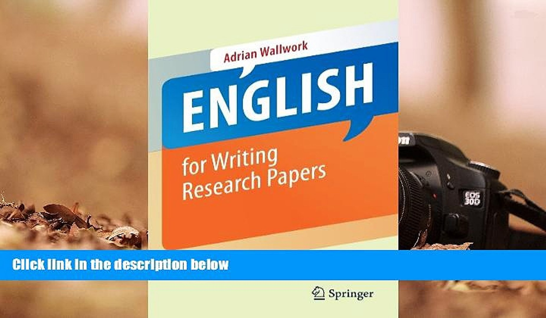 013 X1080 Jtf English For Writing Researchs Adrian Wallwork Pdf Marvelous Research Papers 2011 Full