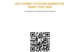 014 Apa Research Paper Citation Generator Page 1 Surprising Format