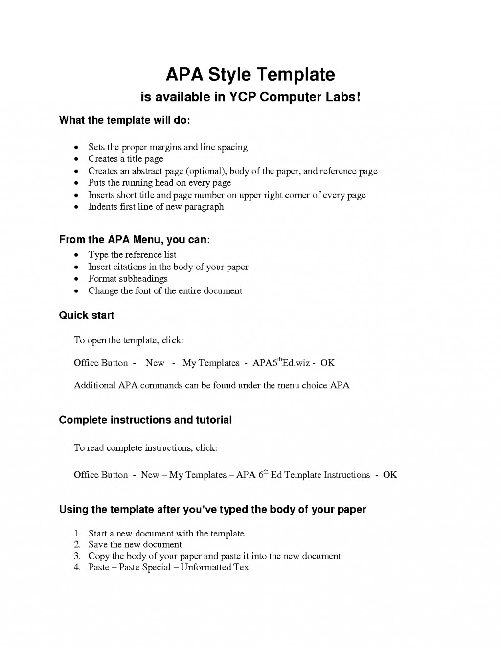 014 Apa Style Research Paper Format Pdf Archaicawful Sample Large