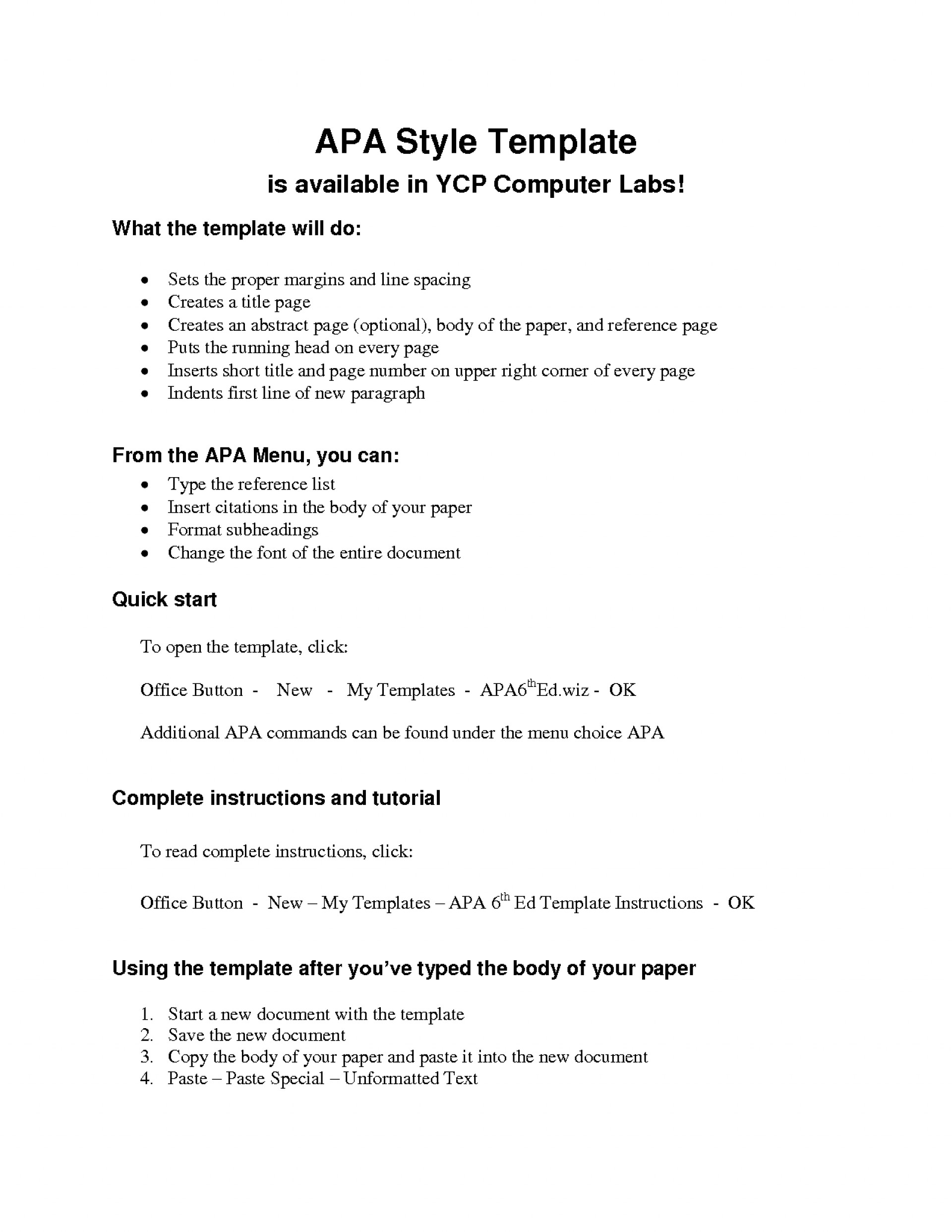 014 Apa Style Research Paper Format Pdf Archaicawful Sample 1920