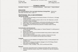014 Biology Research Paper Lovely Resume Skills Section Example Save Puter Unique Of Remarkable Sample Format