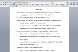 014 Citations In Research Paper Mla Awesome A Citing Sources Citation Example